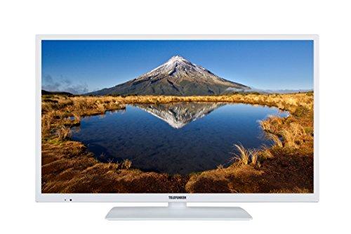 Telefunken XF32E411-W 81 cm (32 Zoll) Fernseher (Full HD, Smart TV, Triple Tuner) weiß