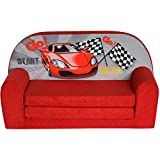 FORTISLINE Kindersofa Mini zum Aufklappen Racing Car W386_02