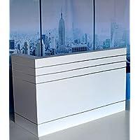 Nueva Recepción mostrador Recepción mostrador, 180cm x 70cm Recepción Recepción mostrador Modular Oficina mostrador Feria mostrador Info mostrador