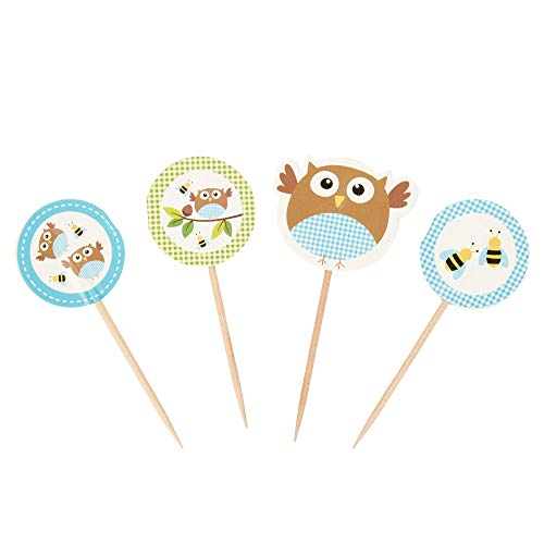 Neviti Little Owls Deko-Picks, ()