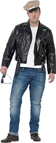 Tag Jahre Outfits 50er (Smiffy's 24463XL - Herren 50er Jahre Rebell Kostüm, Größe: XL,)
