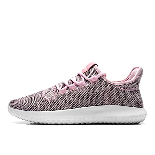 IceUnicorn Ladies Gym Trainers Walking Trainers Womens Fitness Lightweight Sports Running Shoes(5UK,Pink-85)