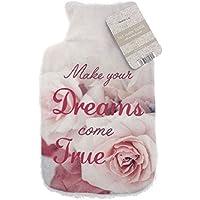 Pink Roses Dreams Come True 'Foto Print Fleece 2L Wärmflasche & Cover mit Cosy Sherpa Rückseite preisvergleich bei billige-tabletten.eu