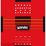 Warwick Akustik-Bass Saiten,Red Bronze