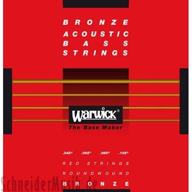 Warwick Akustik-Bass Saiten,Red Bronze