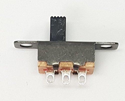 20x MINI SCHIEBESCHALTER MINIATUR 3 PIN 2 POSITIONEN MICRO 20X6MM 48V 0,5A -