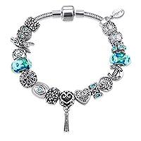 Mestige Bracelet with Swarovski Crystals for Women, MSCB3097