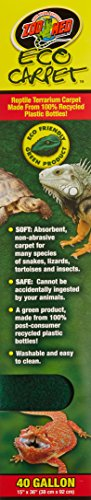 Zoo Med Eco Carpet for 40 Gallon Tanks 2