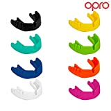 OPRO Adult Snap Fit Mouth Guard Gum Shield For Rugby, Boxing, UFC, Lacrosse, Basketball, MMA, Football, Hockey, Contact Sports