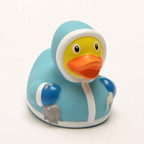 Lilalu 8 x 8 cm / 50 g di raccolta e eschimese Bagnetto Toy Rubber Duck