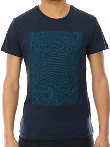 Volcom Herren Printshirt Navy (nvy)