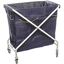 Fesa - Carrito plegable con bolsa para ropa, lavanderia, hoteles, catering