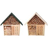 Insektenhotel Deluxe Natur Nistplatz Insektenhaus Insekten Haus Holz