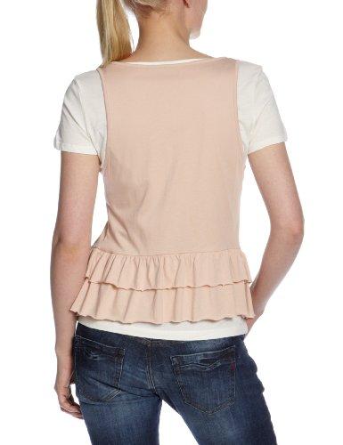 MEXX Damen T-Shirt , N1ME5005 Beige (685)