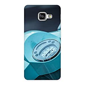 Premium Scooter Meter Multicolor Back Case Cover for Galaxy A3 2016