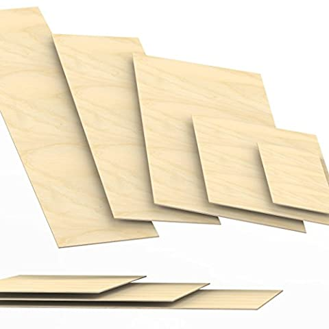 3mm Plywood Sheets cut to size up to 150 cm