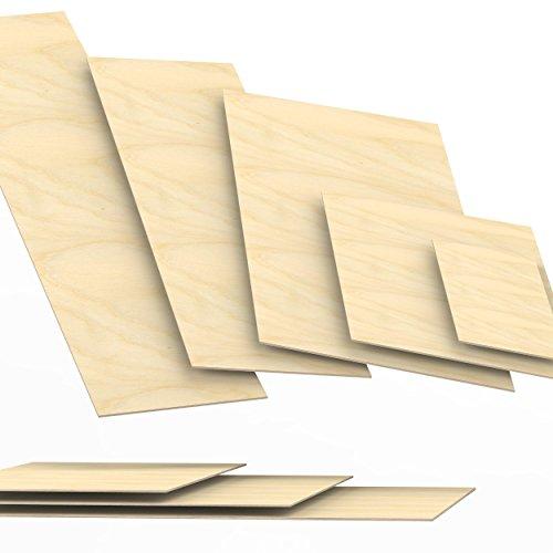 3mm legno compensato pannelli multistrati tagliati fino a 150cm: 70x50 cm