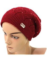 Cappello Donna Gian Marco Venturi Cuffia L.Madreperla A61295 Bordeaux 5d644ab13260