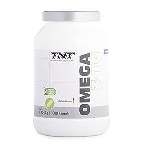 Omega 3 Kapseln Hochdosiert – Reines Fischöl mit EPA & DHA ohne Zusätze – Omega 3 Fettsäuren/Capsules