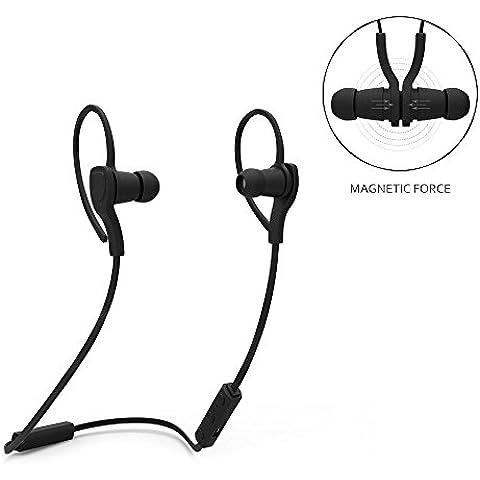 iekon BT-H06Wireless Bluetooth Sport cuffie cancellazione del rumore sweatproof cuffia con microfono vivavoce per iPhone Samsung LG ect