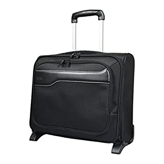 "41jQS9a2E0L. SS324  - Port Designs Hanoi - Trolley para portátil (hasta 15.6"" o 39.62 cm) y Tablet, Color Negro"