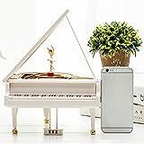 Spieluhr Dekoration - Klavier Spieluhr Rotierend Tanzen Kleines Mädchen Klavier Dekoration Klassische Musik Spielzeug Hause Raumdekoration Kinder Geschenke