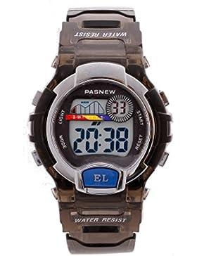 Children's electronic watch wasserdicht multi-funktion digital luminous-F