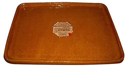 Alfarería Pereruela Siglo XVI APPLB30 Tonplatte, feuerfest, rechteckig, 30 cm