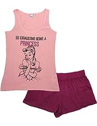 Disney Princess Mujer Pijama Corto