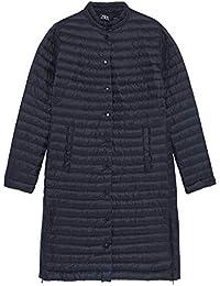 ac2335da Zara Women's Lightweight Puffer Coat 8073/822 Black