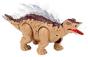 JUINSA- Dinosaurio Movimiento con luz y Sonido, 35 cm (81268)