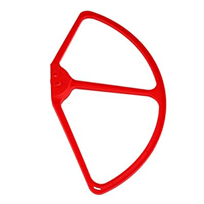 Sharplace 4 Pieces RC Drone Propeller Guards Airscrew Protectors Prop for Cheerson CX20 Quadcopter Accessory Red White