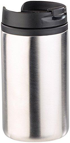 Rosenstein & Söhne Coffee to Go Becher: Doppelwandiger Edelstahl-Isolierbecher, hält warm & kalt, 280 ml (Thermotrinkbecher)