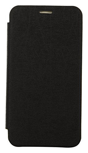iCandy Soft TPU Non Slip Back Shell PU Leather Hybrid Flip Cover for Motorola Moto G 2nd Gen - Black  available at amazon for Rs.129