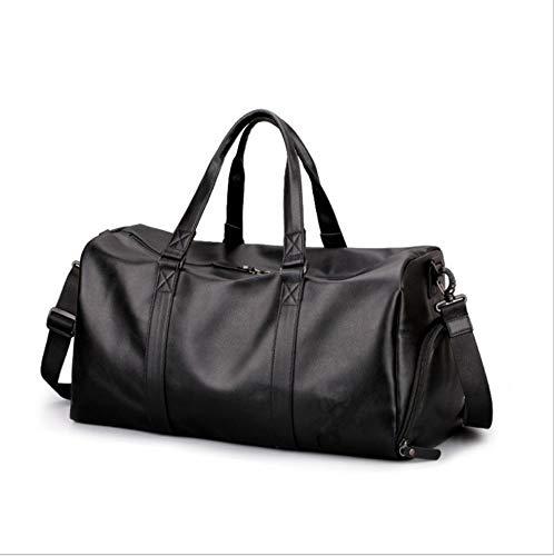 Gepäck Handtaschen Benutzerdefinierte Pu-Leder Männer Geschäftsreise Kurzstrecken Gepäck Fitness Tasche Sporttasche Tragbare Reisetasche Outdoor Freizeit - Benutzerdefinierte Handtaschen Aus Leder