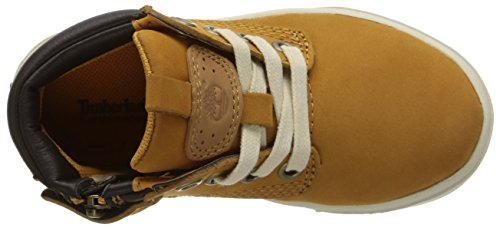 Timberland Groveton_groveton Leather Chukka, Low-Top Sneaker mixte enfant Jaune (Wheat)