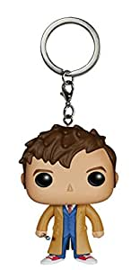 FunKo 4992-PDQ - Pocket POP! - Porte-clés - Doctor Who - 10th Doctor