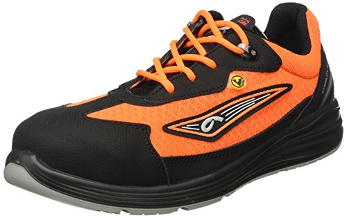 Giasco, Scarpe Antinfortunistiche Uomo Multicolore Orange-Black 47 EU