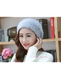 FRGVSXZCX Moda Cappelli Cappello Donna Inverno Moda Donna Cappello Inverno  Autunno E Inverno Berretto per Tenersi 215a4013d793