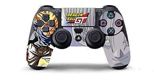 DRAGONBALL GT TRUNKS Skin Cover Joystik PS4 HD CONTROLLER WIRELESS DUALSHOCK 4 PLAYSTATION 4 limited edition DECAL ADESIVA