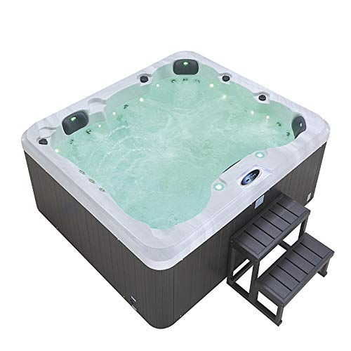 Haisland 2150 * 1900 * 800 mm Outdoor Massage Spa Whirlpool Whirlpool für 5 Personen M-3505
