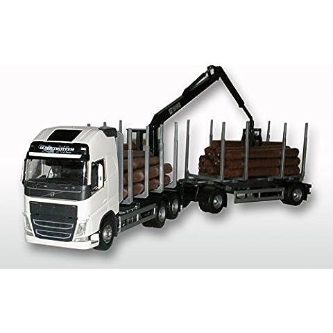 EMEK - EM71352 - VOLVO FH NEW madera remolque de camión, 1:25
