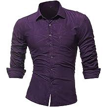 Blusa de Hombre, Polo de Hombre, Camisetas de Hombre, BaZhaHei, Color Pure