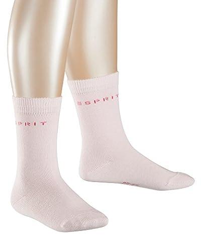 ESPRIT Mädchen Socken Foot Logo 2er Pack, Rosa (Antique Rose 8997), 27-30