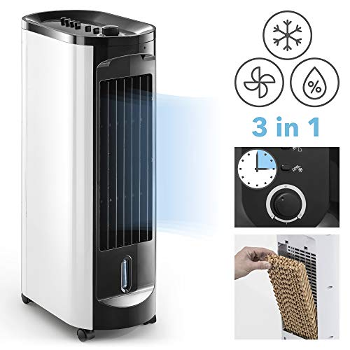 TROTEC Aircooler/mobiles Klimagerät PAE 10 3 in 1 - Gerät Luftkühler, Ventilator, Luftbefeuchter, und Lufterfrischer