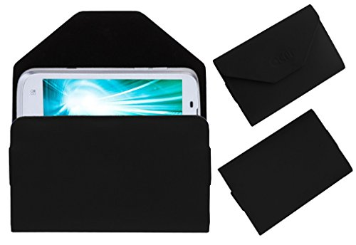Acm Premium Pouch Case For Lava Xolo A800 A-800 Flip Flap Cover Holder Black  available at amazon for Rs.179