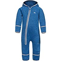 Trespass Amberjack - Traje de Forro Polar con Cremallera para Niños, Infantil, Color Blue Marl, Tamaño Size 6/9