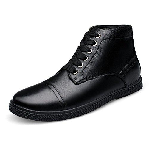 Stivali Da Uomo In Pelle Pieno Fiore Moda Rismart Mens Alla Caviglia