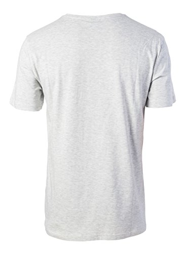 Rip Curl Herren Losange Logo Kurzarm T-Shirt White Marle