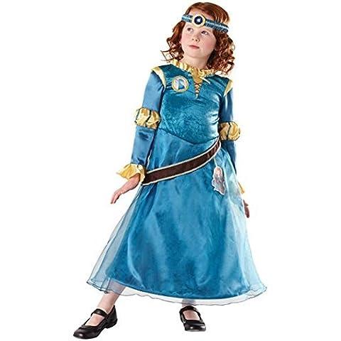 Mädchen Kostüm Brave Merida Offiziell Disney Deluxe Prinzessin EU 98-128